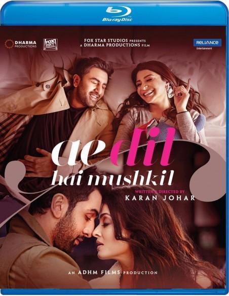Ae Dil Hai Mushkil (Blu-Ray) [FR]