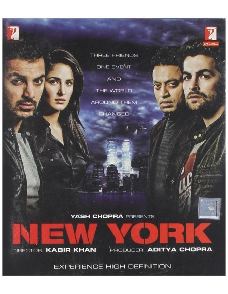 New York (Blu-Ray) [FR]