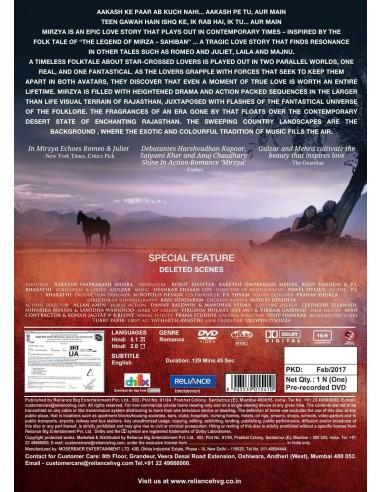 Mirzya DVD