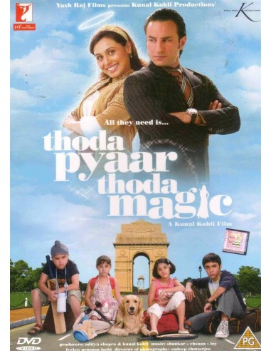 Thoda Pyaar Thoda Magic DVD
