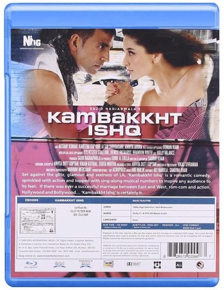 Kambakkht Ishq (Blu-Ray) [FR]
