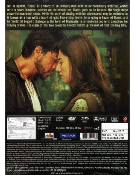 Raees DVD