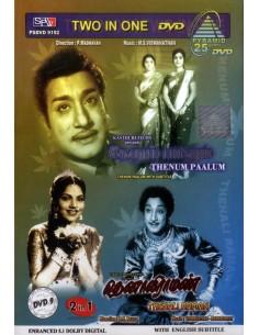 Thenum Paalum / Thenali Raman (DVD)