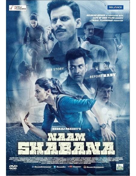 Naam Shabana DVD