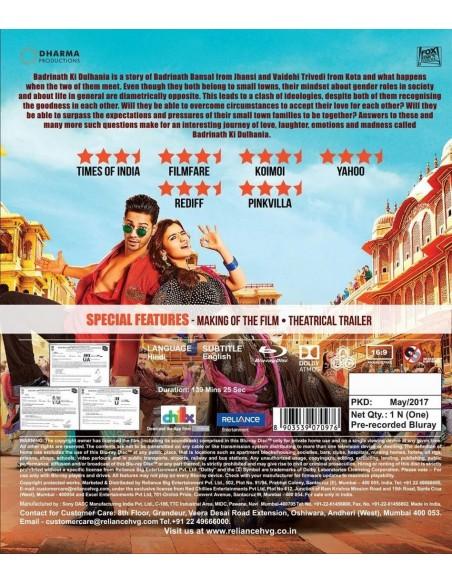 Badrinath Ki Dulhania (Blu-Ray) [FR]