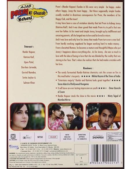 Ajab Prem Ki Ghazab Kahani DVD