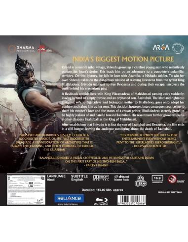 Baahubali: The Beginning (Blu-Ray) [FR]