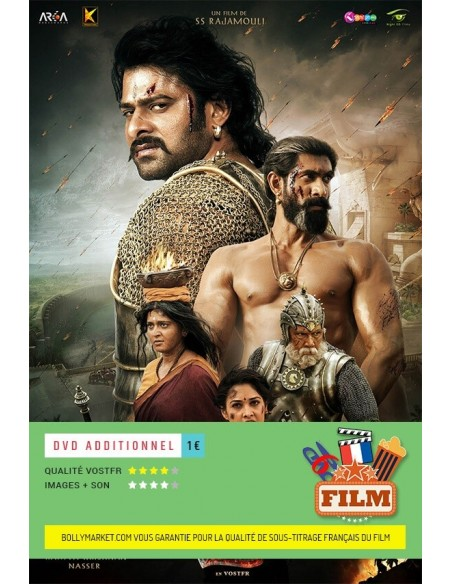 Bahubali 2: The Conclusion DVD