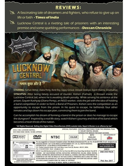 Lucknow Central DVD