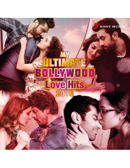My Ultimate Bollywood Love Hits 2018 CD