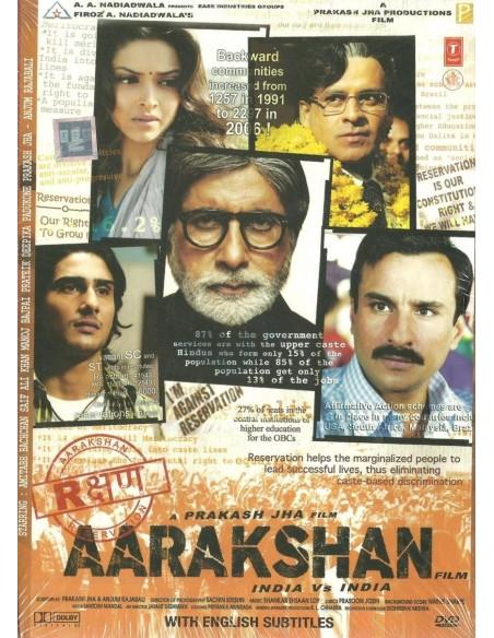 Aarakshan DVD