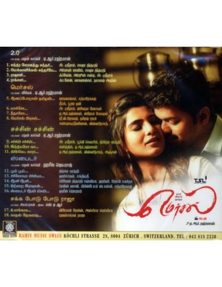2.0 / Mersal / Sachin Sachin / Spyder (CD)