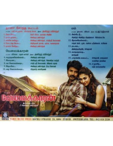 Thaana Serndha Kootam / Velaikkaran / Mom (CD)