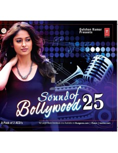Sound of Bollywood 25 CD
