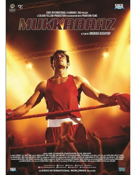 Mukkabaaz DVD