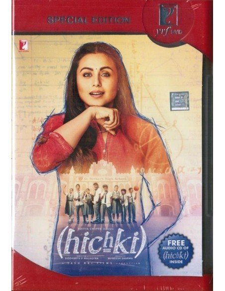 Hichki DVD [2 Disc Special Edition]