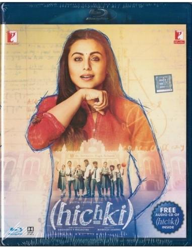 Hichki Blu-Ray (2 Disc Edition)