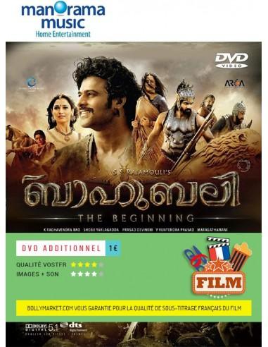 Baahubali: The Beginning DVD (Malayalam)
