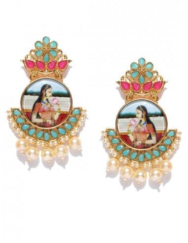 Boucles d'oreilles Padmavati-2