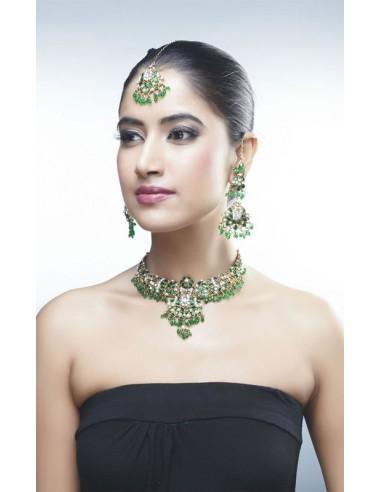 Green Jewellery Set