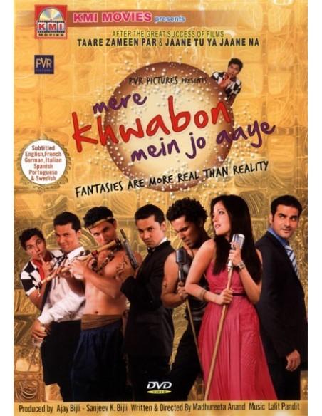 Mere Khwabon Mein Jo Aaye DVD