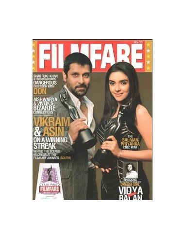 Filmfare, Novembre 2006