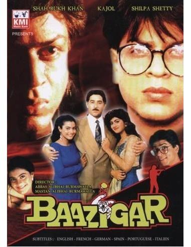 Baazigar DVD