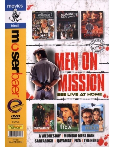Men On Mission: See Live At Home (Pack 6 DVD)