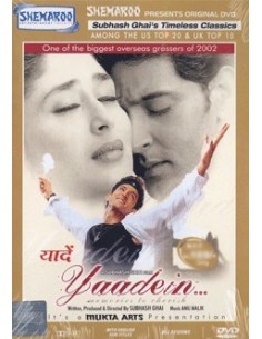 Yaadein DVD (Collector)