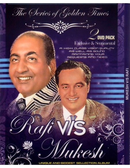 Rafi vs Mukesh (2 DVD)