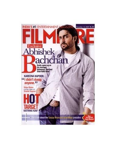 Filmfare, Novembre 2007