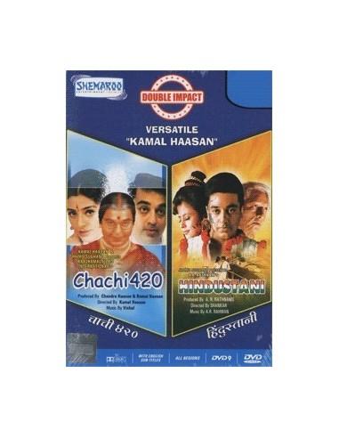 Double Impact - Chachi 420 & Hindustani (2 DVD)