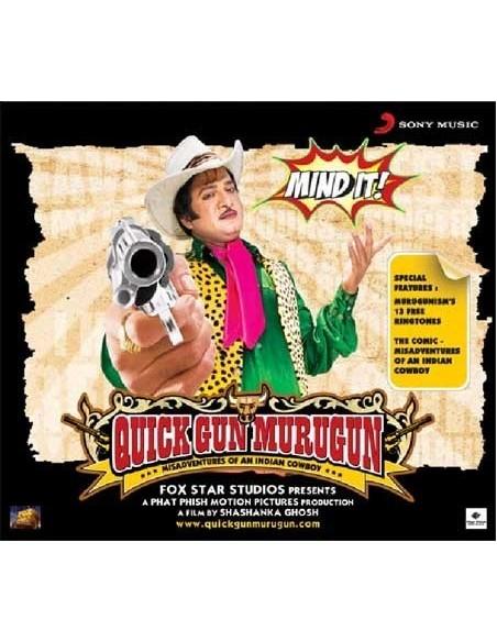 Quick Gun Murugan CD