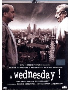 A Wednesday DVD
