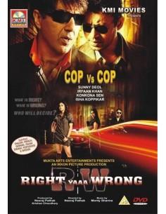 Right Yaaa Wrong DVD