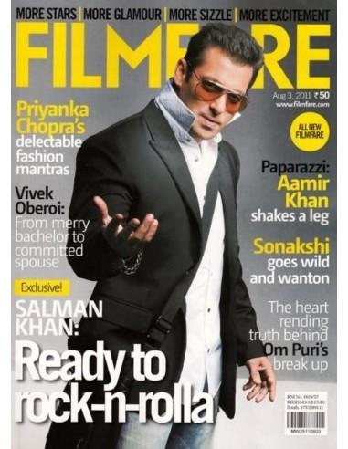 Filmfare, Août 3, 2011