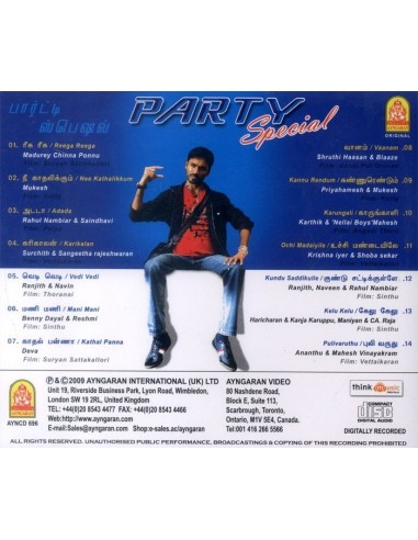 Party Special CD