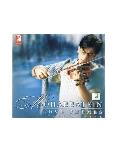 Mohabbatein Love Themes (Instrumental) CD