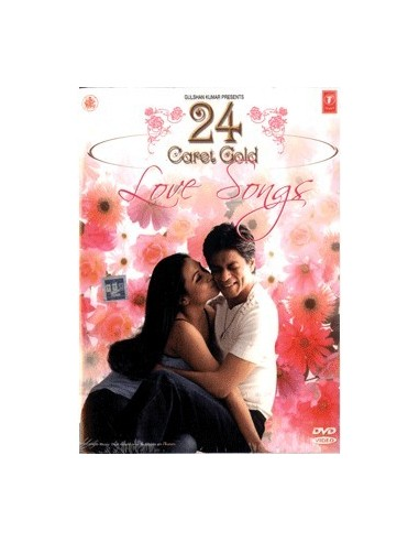 24 Caret Gold Love Songs DVD