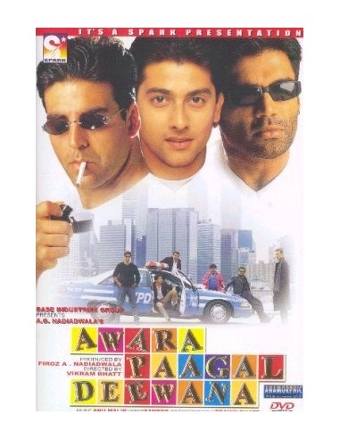 Awara Paagal Deewana DVD
