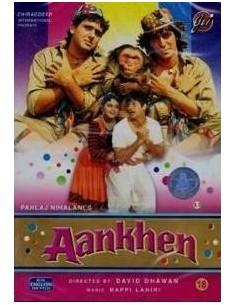 Aankhen DVD (1993)