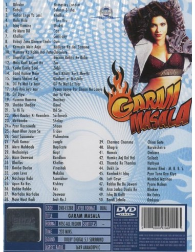 Garam Masala DVD (Collector)