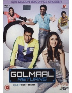 Golmaal Returns DVD