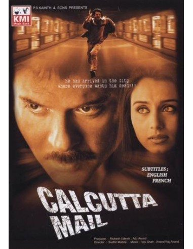 Calcutta Mail DVD