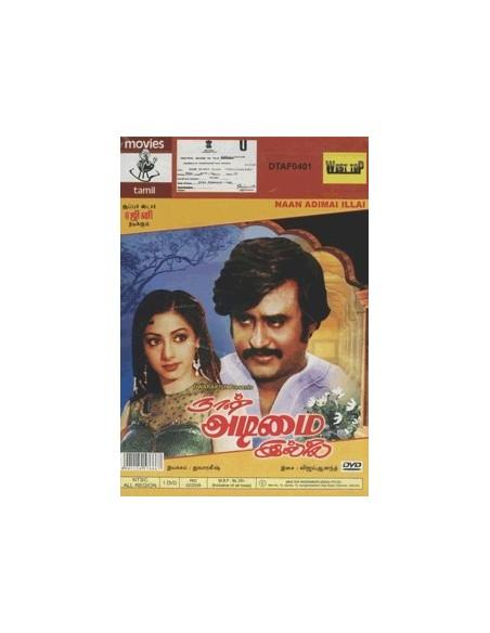 Naan Adimai Illai DVD