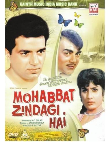Mohabbat Zindagi Hai DVD