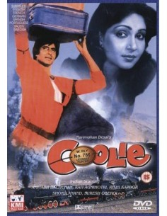 Coolie DVD