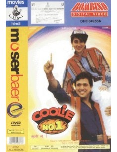Coolie No. 1 DVD