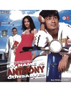 My Name Is Anthony Gonsalves CD