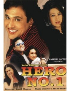 Hero No.1 DVD